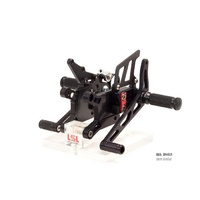 LSL 2Slide Adjustable Rearsets To Suit Kawasaki ZX-10R (2004-2005)