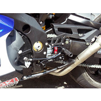 LSL Rear Sets For Suzuki GSXR1000 (2007 - 2008)