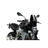 Puig New Generation Sport Screen To Suit BMW F 900 R (2020 - Onwards) - Black