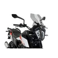 Puig Touring Screen To Suit KTM 390 Adventure (2020 - Onwards) - Smoke
