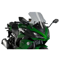 Puig Racing Screen To Suit Kawasaki Z1000 SX (2010 - Onwards) - Smoke