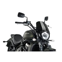 Puig New Generation Sport Screen to Suit Kawasaki Vulcan S (Black)