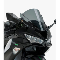 Puig Z-Racing Screen To Suit Kawasaki ZX6R (2018 - Onwards) - Dark Smoke