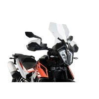 Puig Touring Screen To Suit KTM 790 Adventure (2019 - Onwards) - Clear