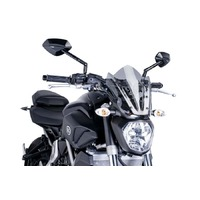 Puig Naked New Generation Sport Screen To Suit Yamaha MT-07/FZ-07 (2014-2017) - Smoke