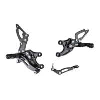 Bonamici Racing Rearsets To Suit Honda CBR1000RR (2008-2016) - RACE VERSION