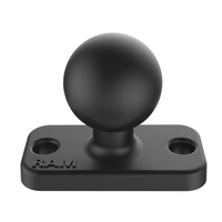 "RAM-B-202U-12 - RAM B Size 1"" Ball and Rectangular Plate with 1.5"" 2-Hole Pattern"