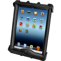 RAM-HOL-TAB17U - RAM Tab-Tite™ Universal Clamping Cradle for the Apple iPad with LifeProof & Lifedge Cases