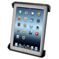 RAM-HOL-TAB3U - RAM Tab-Tite™ Universal Clamping Cradle for the Apple iPad 4, iPad 3, iPad 2 & iPad 1 WITH OR WITHOUT LIGHT DUTY CASE