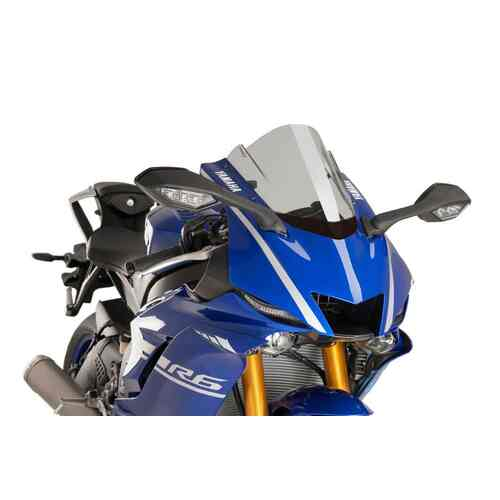 Puig Z-Racing Screen To Suit Yamaha YZF-R6 2017 - 2020 (Smoke)