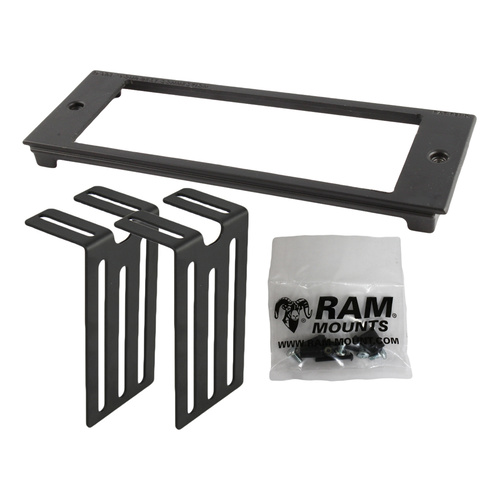 "RAM-FP3-7000-2000 - RAM Tough-Box™ Console Custom 3"" Faceplate. Accommodates Dimensions: 7"" x 2"""