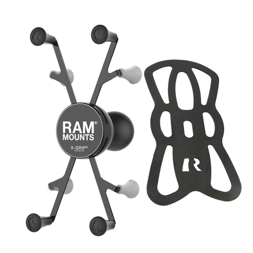 "RAM-HOL-UN8BCU - RAM® X-Grip® Universal Holder for 7""-8"" Tablets with 1.5"" Ball"