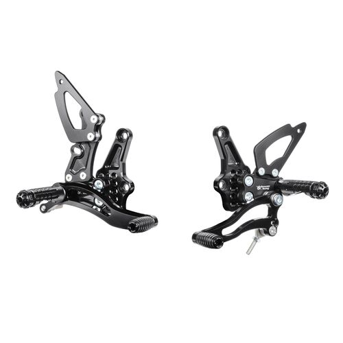 Bonamici Racing Rearsets To Suit Triumph Speed Triple (2011 - Onwards)